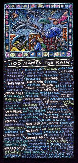 100 NAMES FOR RAIN