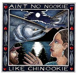 NO NOOKIE LIKE CHINOOKIE ART POSTER