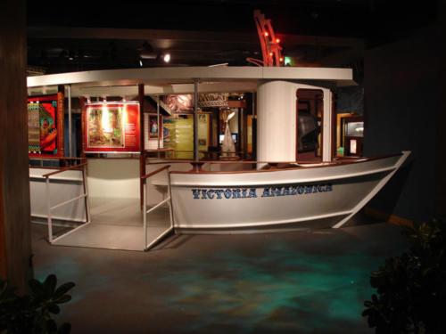 Moacir's river boat