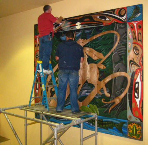 Installing 'A Knight in the Woods""