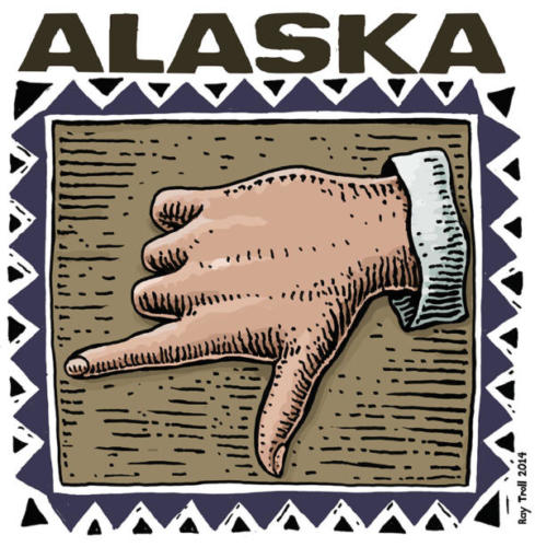 Alaska Hand Sign