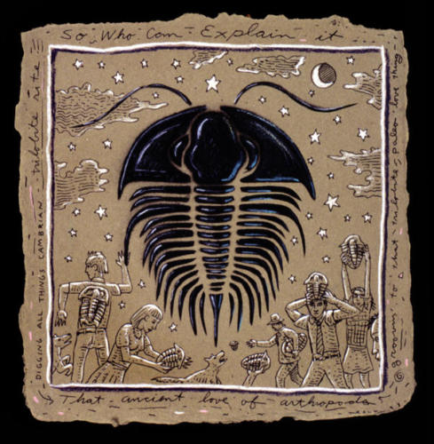 Ancient Love of Arthropods