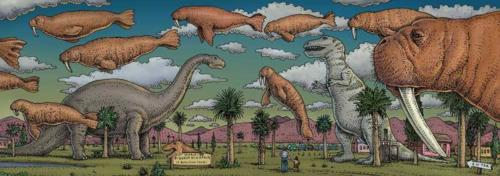Roadside Dinos & Desert Walrus chapter heading