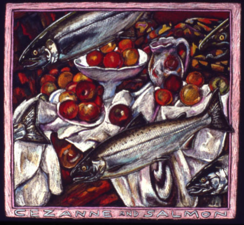Cezanne and Salmon