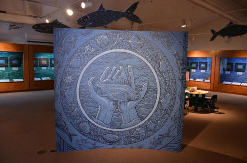 Blues Seas, Green Seas exhibit at the Pacific Grove Museum of Natural History