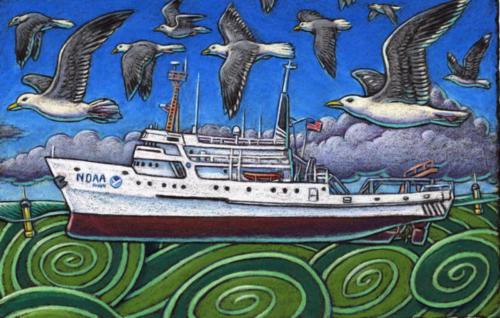 David Starr Jordan NOAA vessel