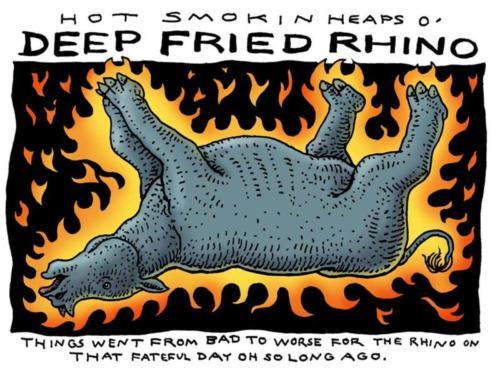 Deep Fried Rhino