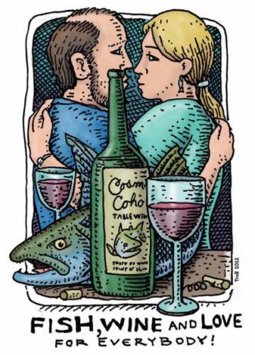 Fish, Wine and Love