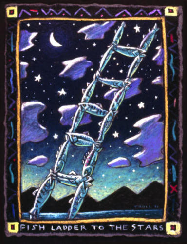 Fish Ladder to the Stars