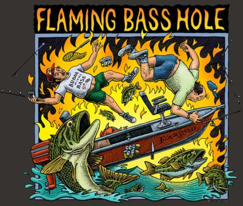 Flaming Basshole
