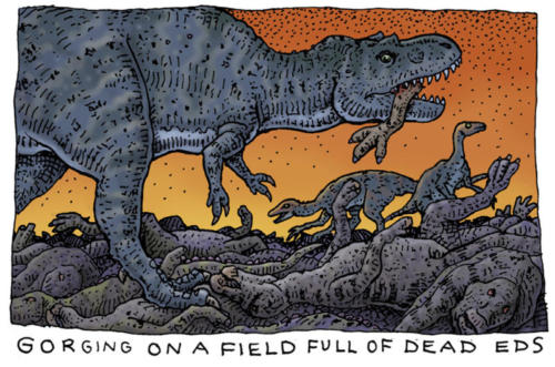 Gorging on a Field of Dead Eds