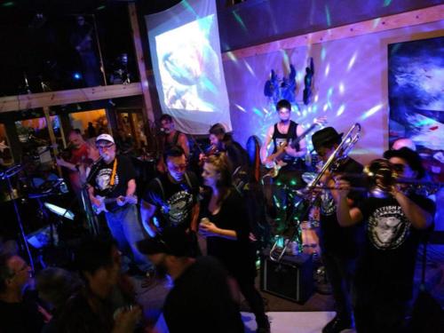 A fun night at the Creek Street Cabaret