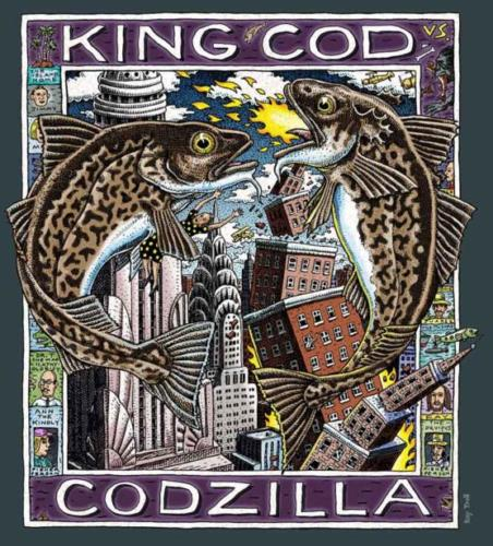 King Kod vs. Codzilla