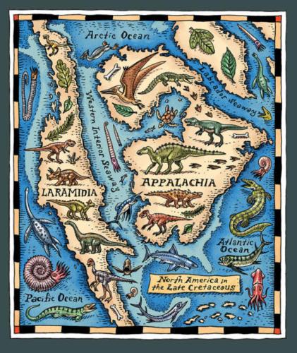 Laramidia and Appalachia
