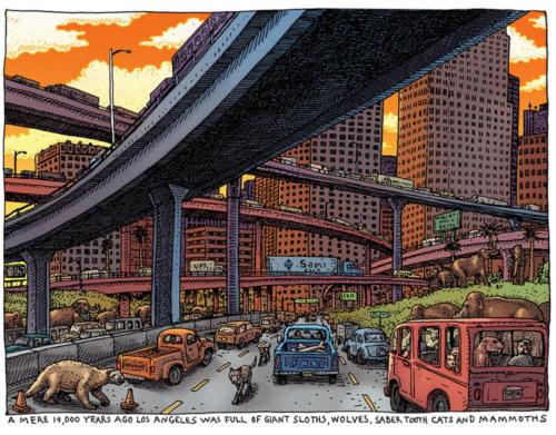 Los Angeles Pleistocene Freeway