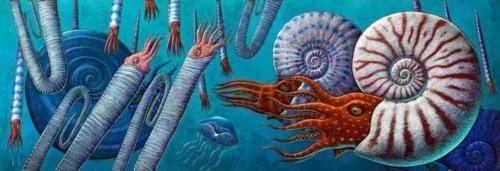 Matanuska Ammonites