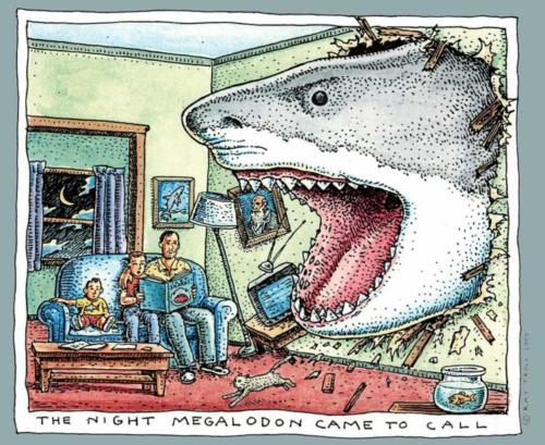 The Night Megalodon Came to Call
