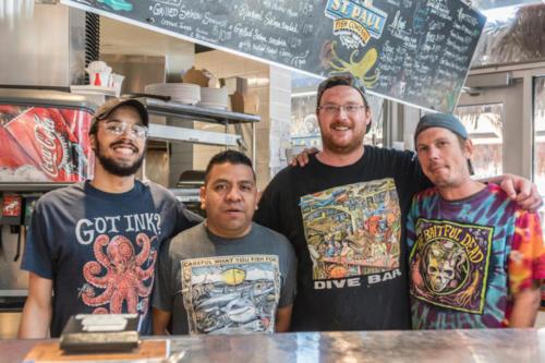 St. Paul Fish Company crew