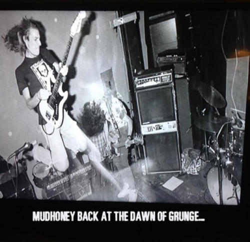 Mudhoney in the early days of grunge