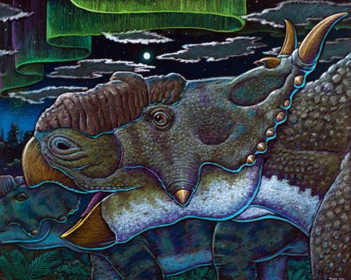 Pachyrhinosaurus perotorum