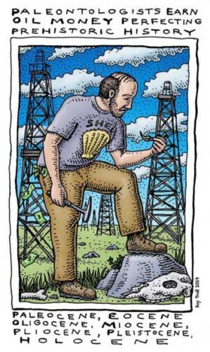 Paleontologists Earn Oil