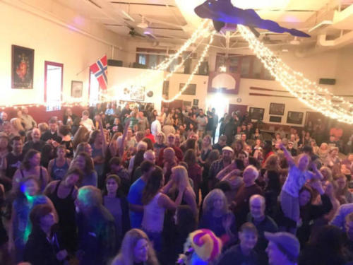 A wild night at the Sons of Norway hall