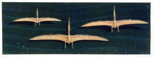 Pteranodons in  Formation