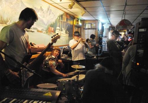 At the Arctic Bar