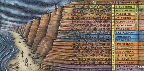 Cruisin' the Fossil Coastline Strat Column