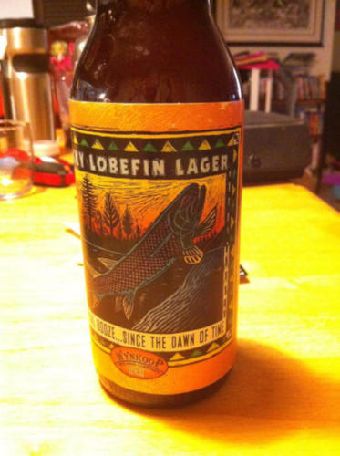 A very rare beer from Wynkoop's Brewery