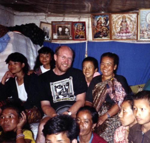 Carl Chew in Katmandu