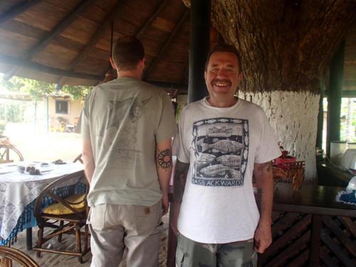 A dude in a Bassackwards shirt somewhere in Panama