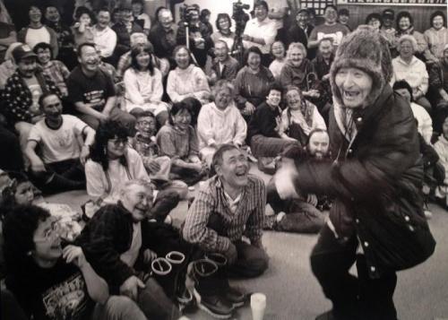 A fun evening at the Yupik Dance festival in Mt. Village, 1989. I'm in the crowd...