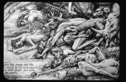 Four Horsemen of the Apocalypse, Detail 2