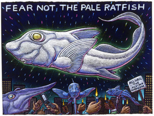 Fear Not the Pale Ratfish
