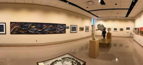 """Prairie Ocean: Long Time No Sea"" exhibit with Chuck Bonner"