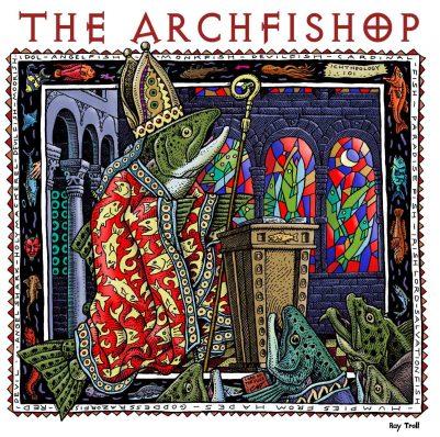 ARCHFISHOP ART POSTER