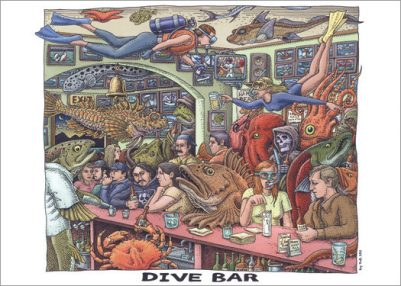 DIVE BAR CARD PACK
