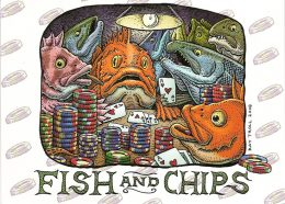 FISH AND CHIPS CARD PACK