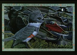 KINGFISHER, THE RAVEN... CARD PACK
