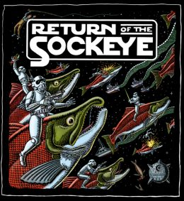 RETURN OF THE SOCKEYE - HOODIE