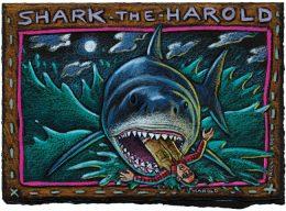 SHARK THE HAROLD CARD PACK