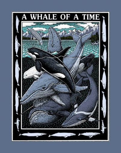 WHALE OF A TIME - LADIES CUT