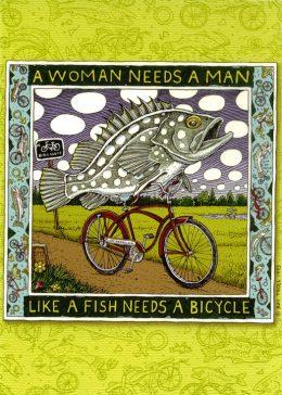 WOMAN NEEDS A MAN CARD PACK