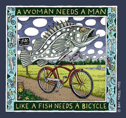 WOMAN NEEDS A MAN - LADIES CUT